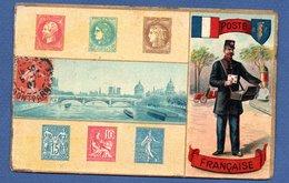 Poste Française  -  Différents Timbres 1907 - Postal Services