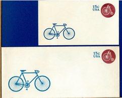 USA - Intero Postale - 15c -  BICICLETTA VELO CYCLE - Ciclismo