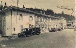 LES ECHARMEAUX Hôtel Jourdan CPA - Unclassified
