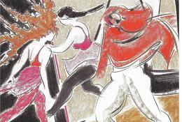 Cp Flânerie à Travers St Cloud, Ville D'histoire Et De Culture, Création Christiane Rosset, Danse, Tino Rossi - Saint Cloud