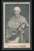 CARDINAAL DESIDERATUS MERCIER - EIGEN BRAKEL 1851 - 1926 - 2 AFBEELDINGEN - Faire-part