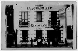 Charmeil Allier Carte Photo Bromure Restaurant Doyat La Chaumière 1920 état Superbe - Autres Communes