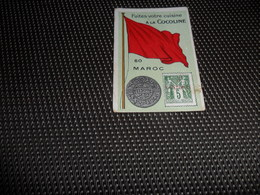 Chromo ( 6734 ) Usines De Bruyn Termonde Dendermonde - Pièce De Monnaie  Timbre  Drapeau - Maroc  Marokko - Autres
