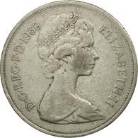Monnaie, Grande-Bretagne, Elizabeth II, 10 New Pence, 1969, TTB, Copper-nickel - 1971-… : Monnaies Décimales
