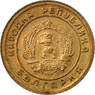 Monnaie, Bulgarie, Stotinka, 1961, TTB, Laiton, KM:50 - Bulgarie