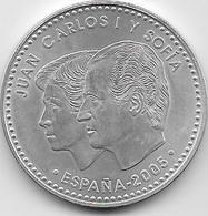 Espagne - 12 Euros - 2005 - Argent - Spain