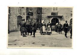 Carte Dubrovnik  Costume Cachet Sur Roi - Yugoslavia