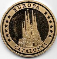 Espagne - 10 Ecus - 1994 - Europa Catalunya - Argent - Autres