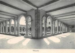 Cartolina Parma Seminario Vescovile Minore Chiostro 1940 - Parma