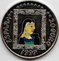 Espagne - Pablo Picasso - 1997 - Argent - Spain