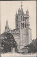 Le Cathédrale, Lausanne, Vaud, 1912 - Jullien Frères CPA - VD Vaud