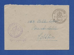 SoSt - Bad Liebenwerda, Baumschulen Forstpflanzen-Forstsamen Auf Umschlag 1955 - Arbres