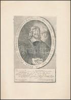 Schedius Kristóf, Modori (Pozsony Megye) Lelkész 1657-ben. Rézmetszet. / Copper Plate Engraving. 12x19 Cm - Engravings