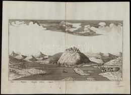 Visegrád - Gran Jacob Koppmayer, Rézmetszete. A Kép Alatt Jelmagyarázat. Megjelent: J. Ch. Wagner: Delineatio Provinciar - Engravings
