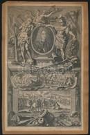 Jacob Andreas Fridrich (1684-1779): Károly Sándor, Württemberg Hercegének Rézmetszetű Képe, Valamint Temesvár Városánál  - Engravings