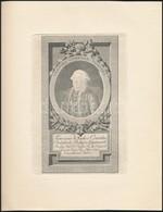 Cca 1800 Balassa Ferenc (1736-1807) Koronaőr Rézmetszet. / Copper Plate Engraving. 12x19 Cm - Engravings