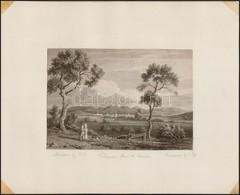 1818 R(ichard) B(right) (1789-1858) -J(ohn) Pye (1782-1874): Varasdin From The Murakos, Richard Bright: Travels From Vie - Engravings