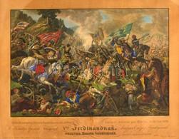 Cca 1835 Jan Osolsobie (?-?) - Eduard Gurk (1801-1841): Báthorit Szabadítja Kinisi A' Kenyérmezőn Oct. 13-án 1479. Ő Kir - Engravings