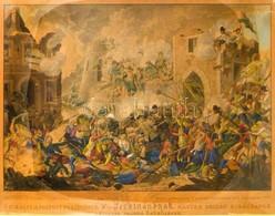 Cca 1835 Jan Osolsobie (?-?) - Eduard Gurk (1801-1841): Buda Várának Diadalmas Ostrommal Visszavétele Sept 2-án 1686. Ő  - Engravings