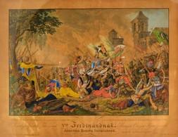 Cca 1835 Jan Osolsobie (?-?) - Eduard Gurk (1801-1841): Zrínyi Miklós Vitéz Halála Szigetvárnál Sept. 8 Dikán 1566. Ő Ki - Engravings