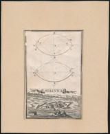 Serinwar (Új Zrínyivár) Rézmetszetű Képe Előtérben Török Alakokkal / Copperplate Engraving Of Serinwar. 10,5x16 Cm - Engravings