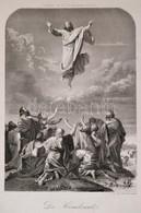 50 Db Szentkép Metszetet Tartalmazó Berakó / 50 Religious Engravings In Stockbook - Engravings