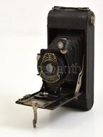 Cca 1920 Kodak Eastman No.1A Pocket Harmonika Kihuzatos Fényképezőgép, Kodar 122mm F/7.9 Objektívvel, Kodex Zárral, Cana - Cameras