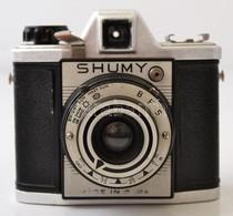 Cca 1955 Chuo Supply Company Shumy Japán 6x6-os Fényképezőgép, Eredeti Bőr Tokjában, Működőképes, Szép állapotban, RITKA - Cameras