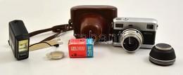 Carl Zeiss Jena Werra 5 Filmes Fényképezőgép, Távmérővel és Fénymérővel, Carl Zeiss Jena Tessar 50mm F/2.8 Objektívvel,  - Cameras