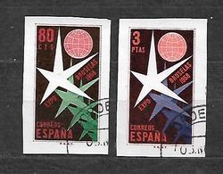 #212A# ESPAÑA EDIFIL SH 1222/1223 MATADAS EN PERFECTO ESTADO. VF USED. - 1931-Heute: 2. Rep. - ... Juan Carlos I