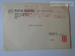 ZA102.47 Hungary Cover MTV Magyar Televízió - Meter 1973 - Lettres & Documents