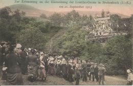 BREITENBACH  Souvenir De L'Inauguration De La Grotte De Lourdes  21 Septembre 1913 - Frankreich