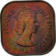 Monnaie, MALAYA & BRITISH BORNEO, Cent, 1961, TTB, Bronze, KM:5 - Malaysie