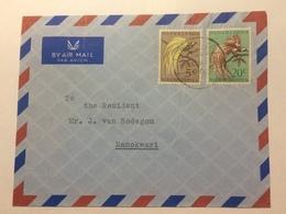 NETHERLANDS NEW GUINEA 1957 Air Mail Cover With Merauke Postmark To Manokwari - Netherlands New Guinea