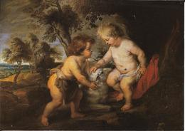 Oeuvre De Rubens, L'enfant Jésus Et St Jean - Peintures & Tableaux