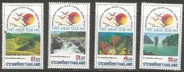 Thailand - 1992 ASEAN Tourist Year MNH **    Sc 1478-81 - Thailand