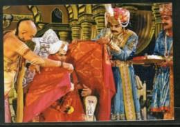 India 2017 Adikavi Nannaya King Narendra Hindu Mythology Epic Max Card # 8017 - Hinduism