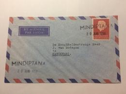 NETHERLANDS NEW GUINEA 1958 Air Mail Cover With Mindiptana Postmark To Manokwari - Netherlands New Guinea