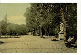 Carte Postale Ancienne Rochefort Sur Mer - Un Coin Du Jardin Public - Rochefort