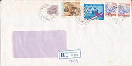 Yugoslavia Registered Cover Petrovac 3-5-1989 - 1945-1992 Socialist Federal Republic Of Yugoslavia