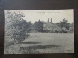 Saint Baudel (Cher) - Butte De Forge-Neuve - Carte Postale Circulée En 1928 - France