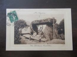Saint Nazaire (Loire-Atlantique) - Un Dolmen Trilittre - Carte Postale Animée, Circulée Vers 1915 - Saint Nazaire