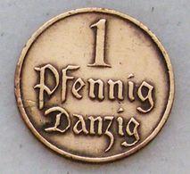 Danzig 1 Pfennig 1929 - [ 3] 1918-1933 : Weimar Republic
