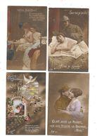 10938 - Lot De 250 CPA Couples Militaires, Amoureux, - Cartes Postales
