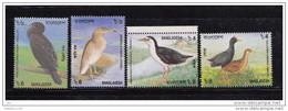 BANGLADESH, 2000,  Birds, Fauna, Set 4 V,  MNH, (**) - Bangladesh