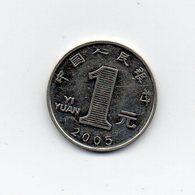 CINA - 2005 - 1 Yuan - Vedi Foto - (MW1659) - Cina