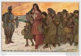 SUISSE ..-- Fête Nationale 1er Août 1915 .   1915 Vers VERVIERS ( Mme Vve Boiteux ) . Voir Verso . - Cartes Postales