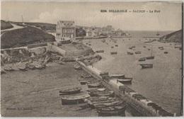 CPA - BELLE ILE En MER - Sauzon - Le Port - Edition Laurent Nel - Belle Ile En Mer