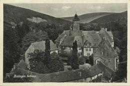 AK Büdingen Oberhessen Schloss Aus Der Höhe 1936 #03 - Wetterau - Kreis