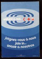 B7590 CROCE ROSSA / RED CROSS - UNITEVI A NOI / JOIN IN / JOIGNEZ-VOUS À NOUS / ÚNASE A NOSOSTROS - Croce Rossa